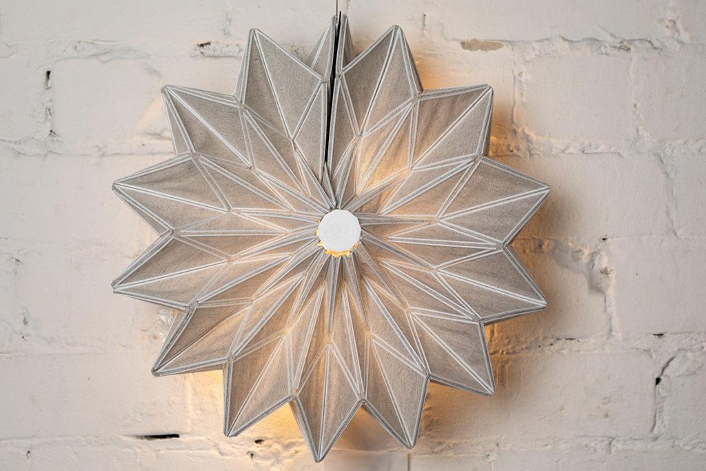 גוף תאורה - עבודה של יעל עקירב, בצלאל
