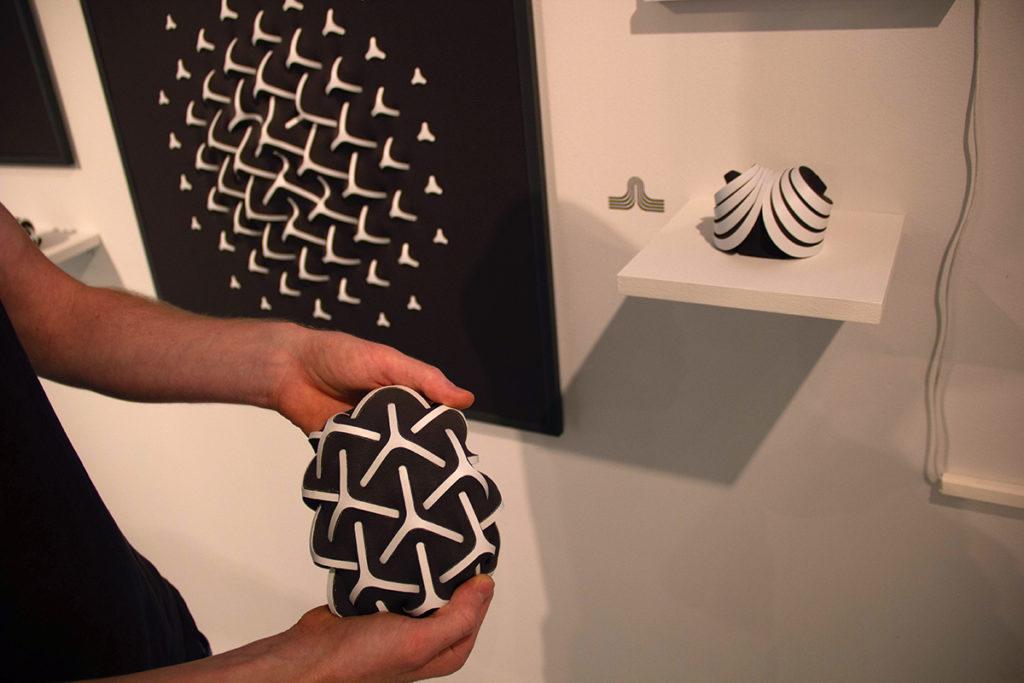 עיצוב תעשייתי - עבודה של דן פישביין, בצלאל