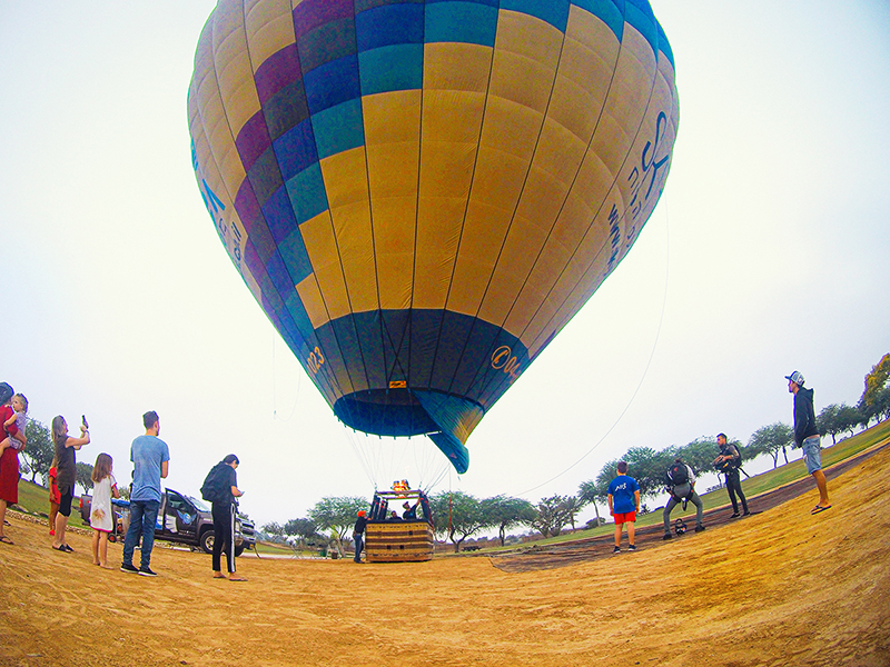 טיסה בכדור פורח | פסטיבל כדורים פורחים - דרום אדום של הקיץ | עינבר שחק