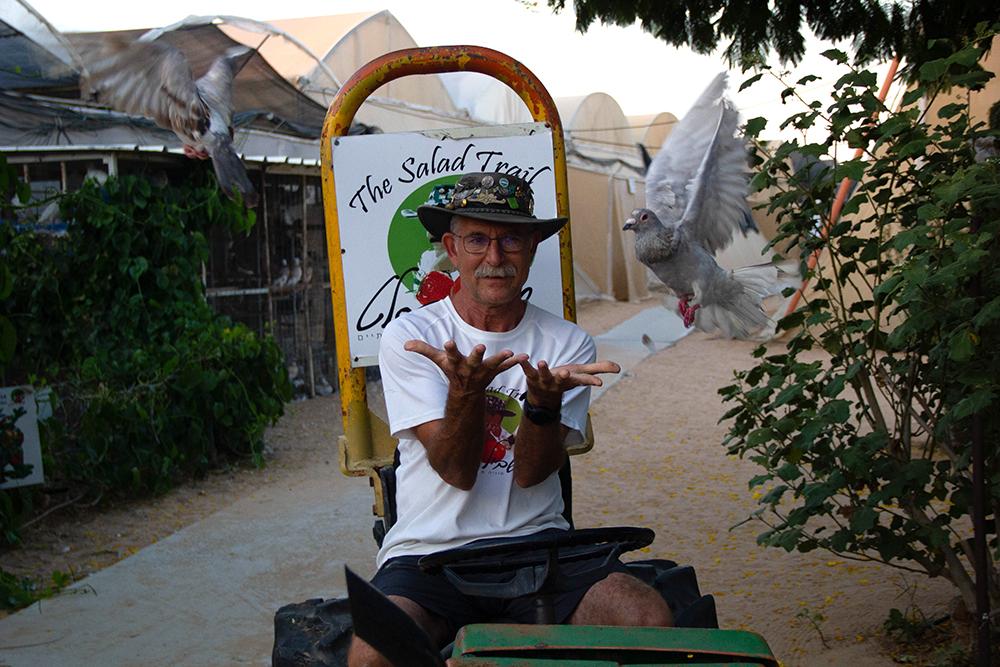 הפרחת יוני דואר בשביל הסלט | פסטיבל כדורים פורחים - דרום אדום של הקיץ | עינבר שחק